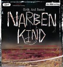 Narbenkind von Erik Axl Sund, 2 MP3-CDs, Teil II der Trilogie