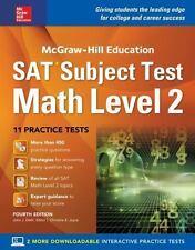 McGraw-Hill Education SAT Subject Test Math, Level 2 by John J. Diehl (2016, Pap