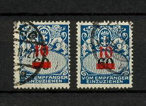 (YYAS 976) Danzig 1932 TYPE DUE USED Mich 41 Gdansk Poland Germany PORTO