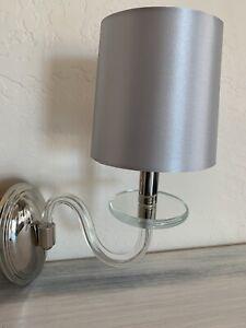 Maxim Lighting Venezia Wall Sconces Silver Gray Shade