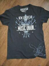 New American Music Union Festival T-Shirt 2008 Black size XS Dylan Raconteurs