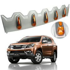 Spoiler Front Leds Roof Lamp Cover Silver Orange For Isuzu Mu-x Suv 2014 2018