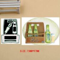 Beer party set Metal Cutting Dies Stencils Scrapbook Paper Card Decorative Craft