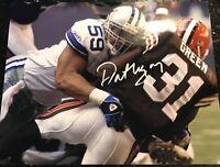Dat Nguyen Autographed Dallas cowboys 8x10 Football Photo Gdst Hologram