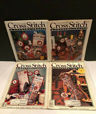4~Cross Stitch & Country Crafts July Aug '86, '87, '89, '90 Christmas Stocking