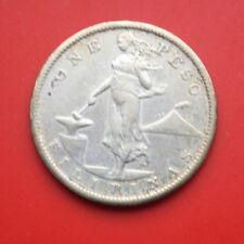 Philippines-Philippinen: 1 Peso 1909-S Silber KM# 172, SS-VF, #F1714