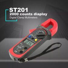 Digital Clamp Meter Multimeter Handheld Dcac Auto Range Ohm Amp Tester Lcd Trms