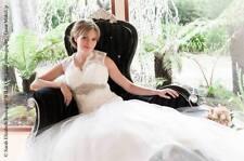 Crystal/Diamante Tulle Mermaid & Trumpet Wedding Dresses