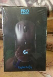 Logitech 910-005270 G PRO Wireless Optical Gaming Mouse with RGB Lighting Sealed
