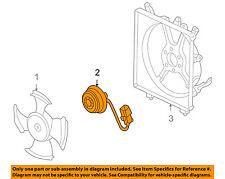 HONDA OEM 03-05 Civic-Engine Cooling Fan Motor 38616PZA005