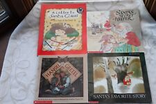 Lot of 4 Children's Christmas Holiday Friendship Paperback Picture Books
