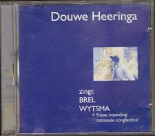 CD 5 track DOUWE HEERINGA zingt Jacques BREL Baukje WYTSMA Songfestival UNIVERSE
