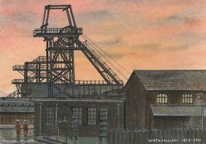 Wath Colliery  - 1873 - 1988 - Ltd Ed Print - Pit Pics - Coal Mining