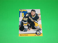 MARTIN STRAKA PITTSBURGH PENGUINS UPPER DECK ROOKIE HOCKEY CARD # 559