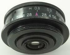 INDUSTAR-69 2.8/28 Russian Soviet USSR Wide Angle Pancake Lens M39 MMZ LOMO #20