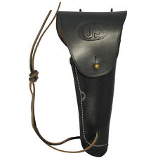 Black Leather US M1916 Colt Pistol Holster Repro M1911 Gun Holder American Army