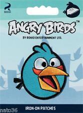 Applikation Nr. 925125a angry birds blau Aufbügel PRYM nähen bügeln Jacke Hose