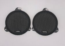 Rockford Fosgate - MESH SPEAKER GRILLS FOR STREET GLIDE - WITH STICKERS !!