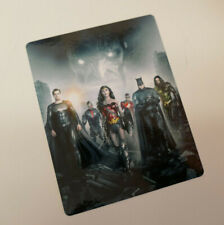 JUSTICE LEAGUE snyder - GLOSSY Bluray Steelbook Magnet Cover (NOT LENTICULAR)