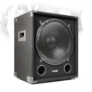 "Max MAX18SUB 18"" Passive Subwoofer Speaker Low Bass Sub Stage PA DJ Disco 1600w"