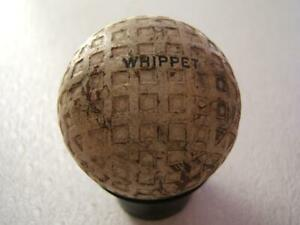 VINTAGE WHIPPET GOLF BALL ROUGH CONDITION