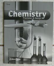 ABeka Chemistry:Precision & Design,2nd Ed. Quiz Key A Beka
