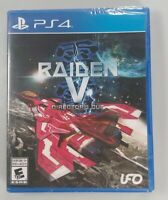 Raiden V Directors Cut (Sony Playstation 4, PS4) Brand New Factory Sealed