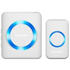 Wireless Door Bell 52 CHIME Home Waterproof Cordless 300M Range Digital Doorbell