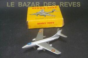 DINKY TOYS FRANCE. Avion VAUTOUR.  REF:60 B. + Boite.