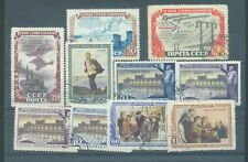 Russia 1951 sg.1733-4, 1745-46a, 1747-9 used