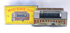 Matchbox SERIES No. 74 MOBILE CANTEEN in Box  452