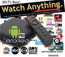 Android Pro TV Box, THE Best, Terrarium+No Ads! Beyond Kodi 17.3, 2gb/16gb