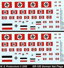1/144 + FOW Decals GR-105 German Air Recognition Flags