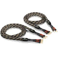 Viablue 24360 - SC-4 BI-WIRE CRIMPATO 150 cm - Cavo Hi End Diffusori (Coppia)