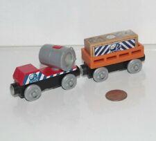 Thomas & Friends Wooden Railway Train Tank BMQ Searchlight Mining Supply Car GUC