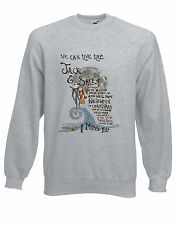 I Miss You Lyrics Nightmare Before Christmas Pastel Art Jumper Sweater Ai27 L Grey