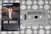 John Denver's Greatest Hits, Volume 2 - Cassette Tape -1977