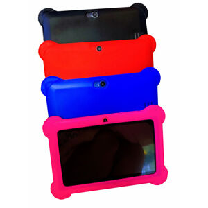 7'' Inch Kids Tablet PC Android 4.4 Quad Core Dual Camera WiFi 4GB KidsTablet ji