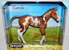 BREYER CAMILA SPRINGTIME FOAL 1/6 SCALE PINTO No. 9195 FILLY 2014 HORSE MIB