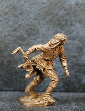 Tin Soldiers * Wild West * Native American with a mace * 54-60 mm