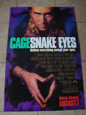 Snake Eyes - Movie Poster With Nicolas Cage