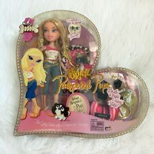 More details for bratz pampered pupz cloe complete in damaged box read descript! boxed packaging
