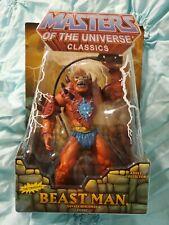 2009 Masters Of The Universe Classics Beast Man MOTU He-Man Mattel