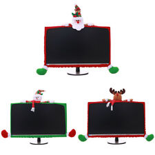 Christmas LCD Display Bumper Case Cover Decor For Computer PC TV Monitor IT