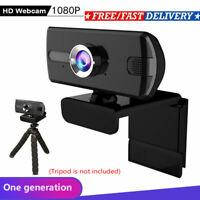 USB Genuine 1080P Webcam Camera Digital Web Cam with Mic For Laptop Desktop NEW