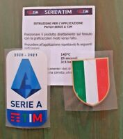 patch toppa BADGE logo JUVE SERIE A TIM 2021 2020 + SCUDETTO NUOVO 2 TOPPE