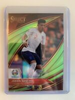 2020 JADON SANCHO PANINI SELECT UEFA EURO FIELD LEVEL LIME GREEN /149 !! INVEST!
