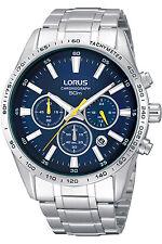 LORUS RT321CX-9,Men's Chronograph,QUARTZ,STAINLESS CASE,Brand New,50m WR