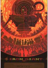 MONDO POSTER IRON GIANT POSTCARD MARVEL KEN TAYLOR MOVIE CARD PRINT 4x6