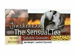 Jinshenkang Sensual Tea (6 Packs) Works in 30 mins!!! FREE 3-DAY SHIPPING